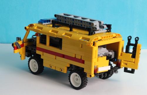 Lego Technic RC UAZ-452 Van