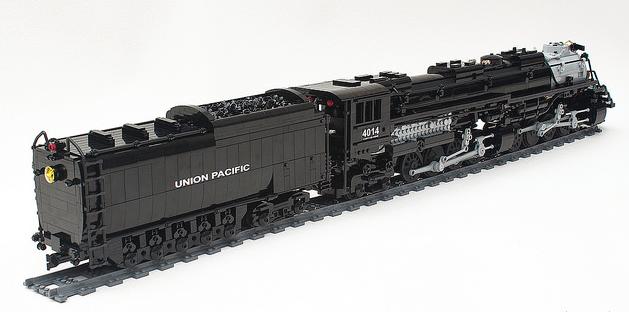 lego union pacific big boy train remote control the lego car blog