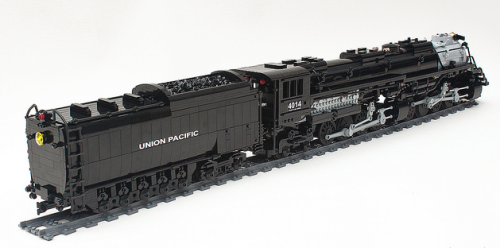 Lego Union Pacific Big Boy Train Remote Control