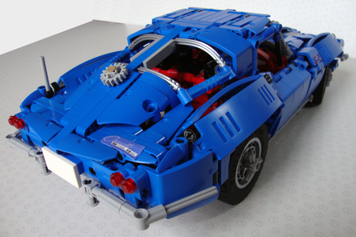 Lego Technic Corvette Sting Ray 1963