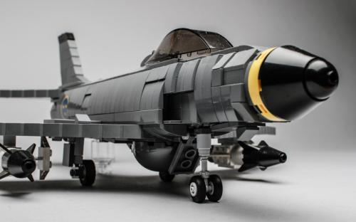 Lego Saab 32 Lansen Fighter Aircraft