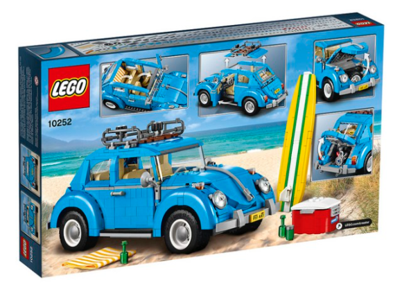 New 10252 Volkswagen Beetle Lego Creator
