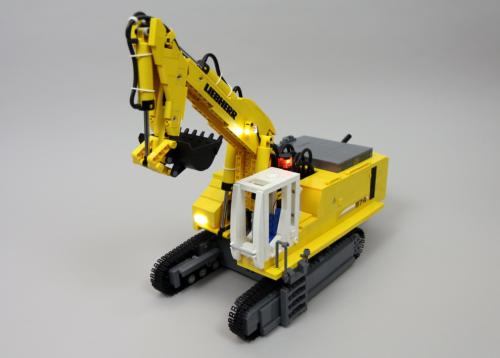 Lego Liebherr Excavator RC