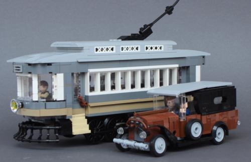 Lego Vintage Truck Tram
