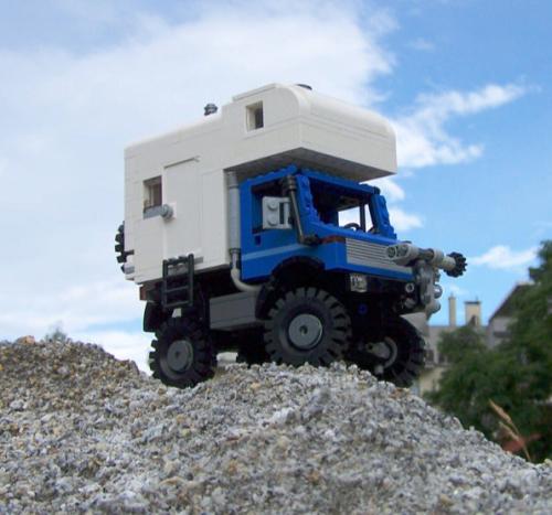 Lego Unimog Motorhome
