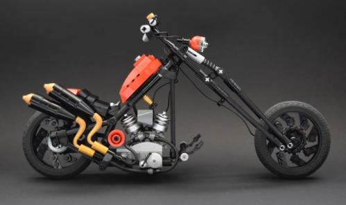 Lego Hardtail Chopper