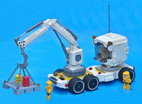 Lego Sci-Fi Crane