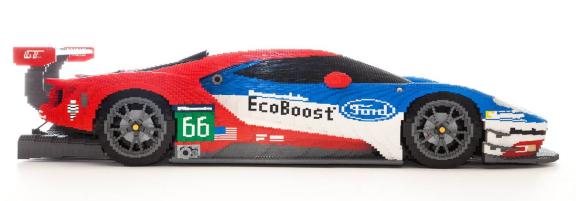 Lego Ford GT Ecoboost Le Mans 2016
