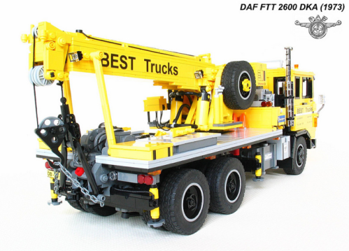 Lego DAF FTT 2600 Truck