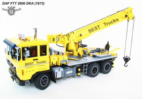 Lego DAF Truck Remote Control Technic