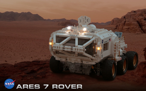 Lego The Martian Ares 7 Rover