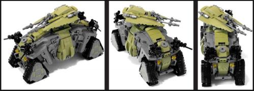 Lego Sci-Fi Tank