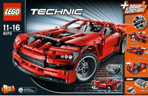 8070 technic supercar review the lego car blog. Black Bedroom Furniture Sets. Home Design Ideas