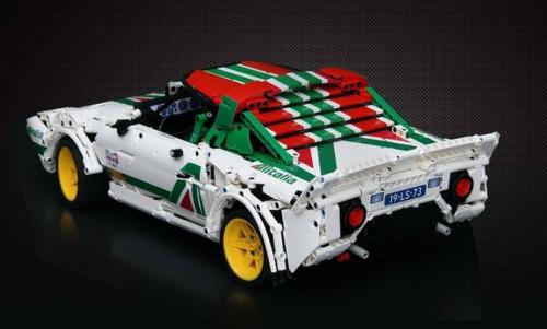 Lancia Stratos Alitalia Lego Technic