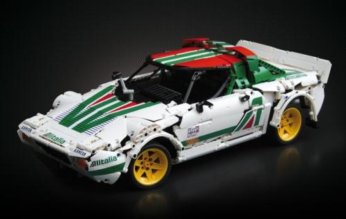 Lego Technic Lancia Stratos HF Alitalia