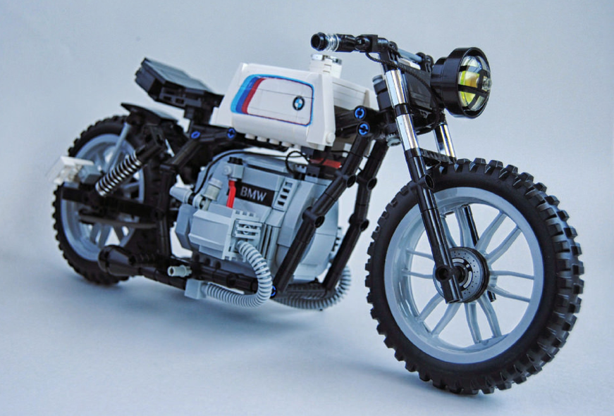 lego bmw r100 motorbike the lego car blog. Black Bedroom Furniture Sets. Home Design Ideas