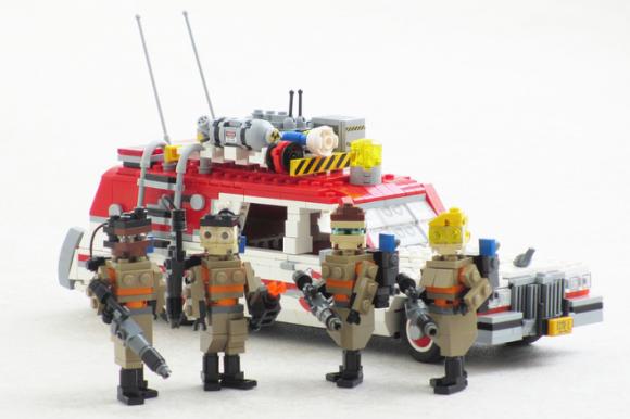 Lego Ghostbusters ECTO-1 2016 Movie