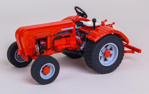 Lego Technic Porsche Super Tractor