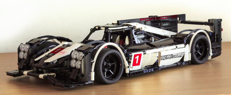 lego porsche 919 hybrid le mans the lego car blog. Black Bedroom Furniture Sets. Home Design Ideas