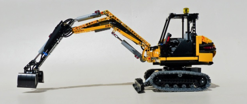 Lego Technic Remote Control Excavator Power Functions