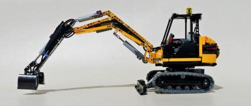 Lego Technic Remote Control Excavator Power Functions