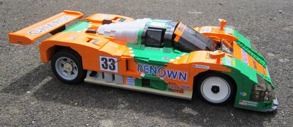 Lego Mazda 787B Rotary Le Mans
