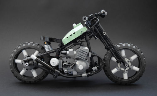 Lego Chopper Bike