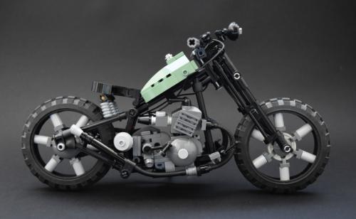 Lego Chopper Bike