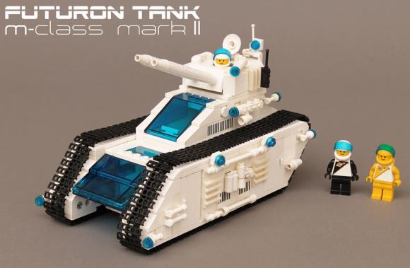 Lego Futuron Space Tank