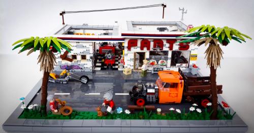 Lego Town Parts Shop
