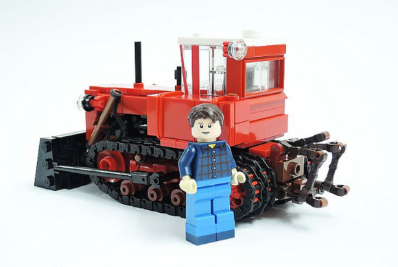 Lego DT-75 Tractor