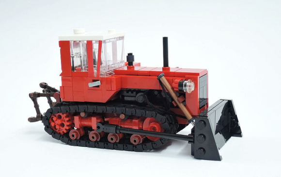 Lego DT-75 Bulldozer