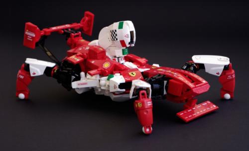 Lego Ferrari Mecha