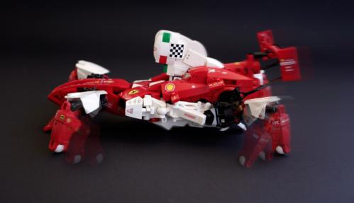 Lego Ferrari F1 Mecha