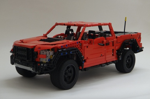 Lego Technic Ford Raptor Remote Control