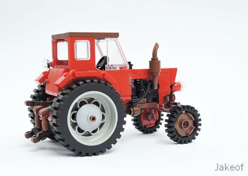 Lego Belarus Tractor