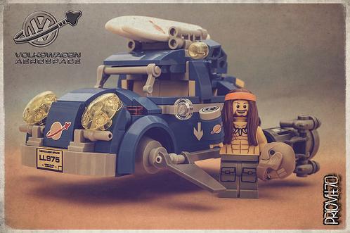 Lego VW Beetle Space Sci-Fi