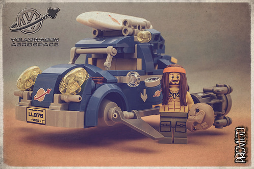 Lego VW Beetle Space Sci-Fi