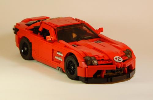 Lego McLaren Mercedes SLR 722