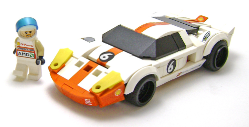 Lego Ford GT Racing