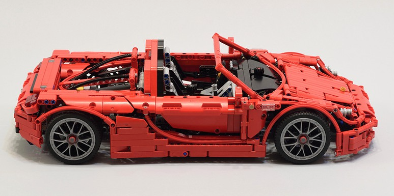 lego technic porsche carrera gt the lego car blog. Black Bedroom Furniture Sets. Home Design Ideas