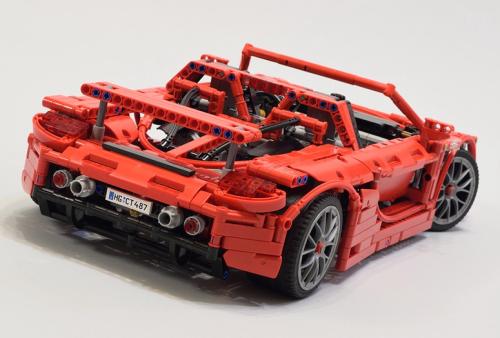 Lego Technic Supercar Porsche Carrera GT
