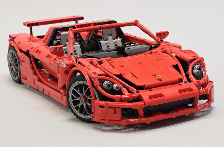 Porsche Carrera Gt Picture Special The Lego Car Blog