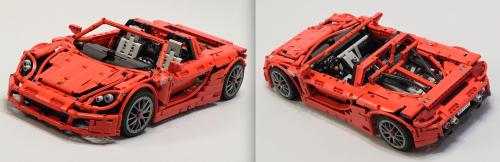 Lego Porsche Carrera GT