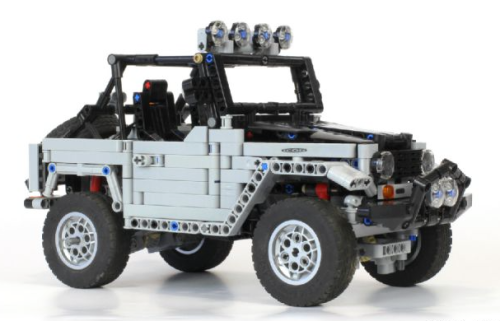Lego Toyota FJ 40 Baja
