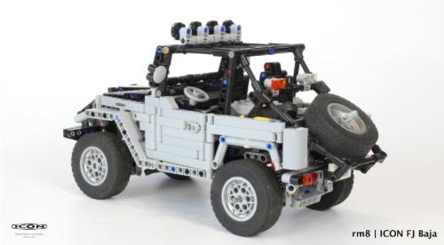 Lego Technic Toyota FJ Icon