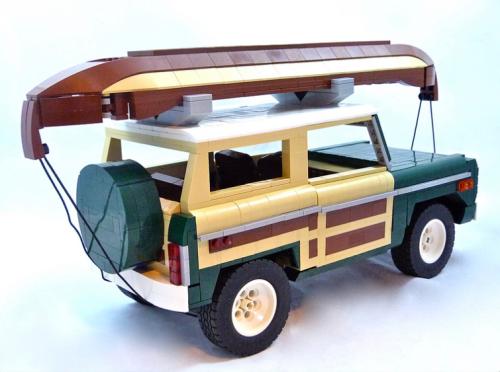 Lego Model Team Ford Bronco