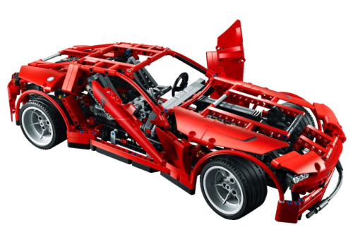 Lego Technic 8070 Supercar Review