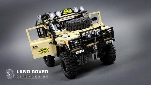 lego land rover defender 4 4 remote control the lego car. Black Bedroom Furniture Sets. Home Design Ideas