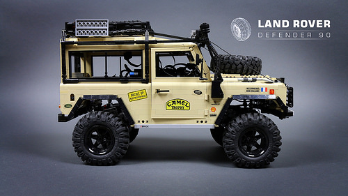 Lego Technic Land Rover Camel Trophy